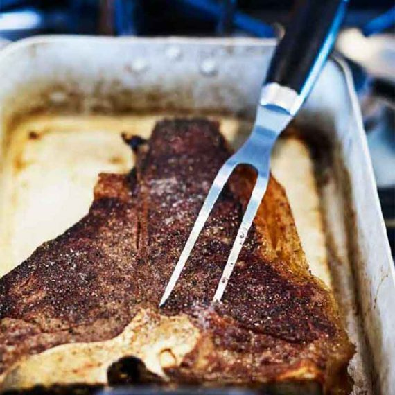 موراکنیو®چنگال برش گوشت ١٨٩١ مشکی