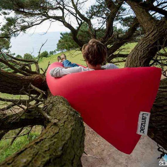 کاناپه بادی فتبوی لمزاک قرمز