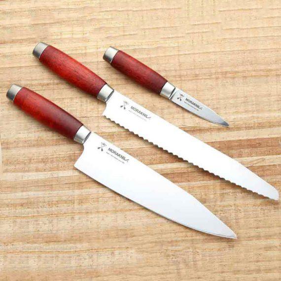 موراکنیو®مجموعه چاقوهای ١٨٩١ قرمز